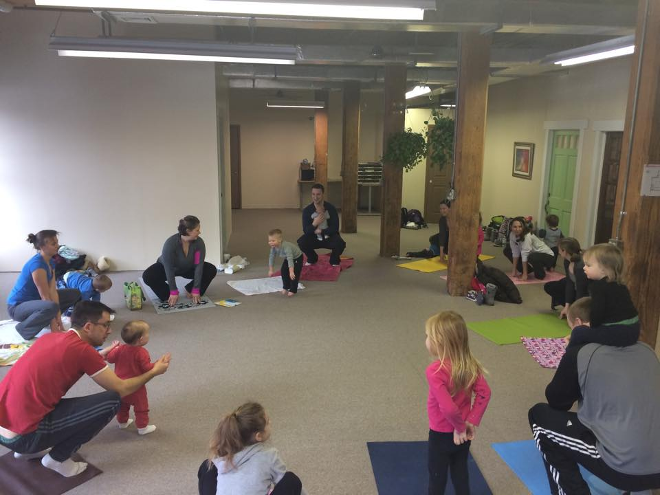 Family yoga and With Women Wellness
